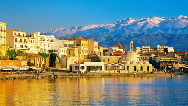 Chania, Crete's most handsome town. Photograph: Marco Simoni/The Image Bank/Getty