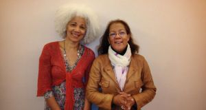 Evon Brennan (left) and Rosemary Adaser of Call to Action Mixed Race Irish: want to reach out to other mixed-race ex-institution Irish.