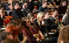 A section of the attendance at the National Media Conference in partnership with The Irish Times at Trinity College, at the weekend. Photograph: Cyril Byrne / THE IRISH TIMES