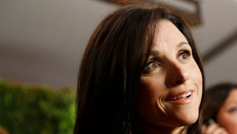 Julia Louis-Dreyfus, best known from Seinfeld and showing up sometimes in Curb Your Enthusiasm.  Photograph: Fred Prouser/Reuters