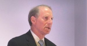 Dr Richard Haass: is in Belfast  for all-party talks aimed at resolving the three contentious issues of the legacy of the Troubles. File Photograph:  PA Wire