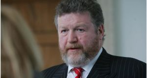 Dr James Reilly: said only five organisations had replied to a circular letter  issued at the end of September. Photograph: Bryan O'Brien / The Irish Times