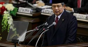Indonesia's president Susilo Bambang Yudhoyono: his government has said it will reconsider all relations with Sydney. Photograph: Reuters