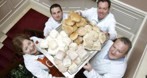 Members of the Waterford Blaa Bakers Association (left to right): Esther Barron, Declan Sutton, Michael Walsh and Brian Hickey
