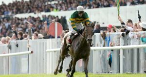 Galway Plate winner Carlingford Lough, ridden by Tony McCoy, is targeted at Sunday's Ladbrokes Troytown Chase