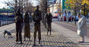 Famine Memorial by Eric Luke