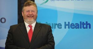 Minister for Health Dr James Reilly said 'even in the current difficult economic circumstances, the vast majority of consumers are retaining some level of health insurance cover'. Photograph: Aidan Crawley/The Irish Times
