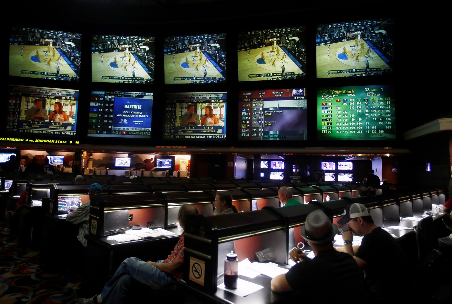 how to make a sports bet at a casino