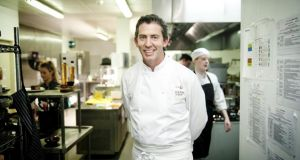 Chef Noel McMeel of Lough Erne Resort, who stars in Tourism Ireland's latest online food film. Photograph: Tony Pleavin