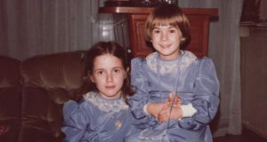Christmas past: Maia Dunphy (on left)