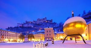 A group tour of Salzburg in Austria, birthplace of Mozart and setting for The Sound of Music, also includes a visit to a ski resort and a concert