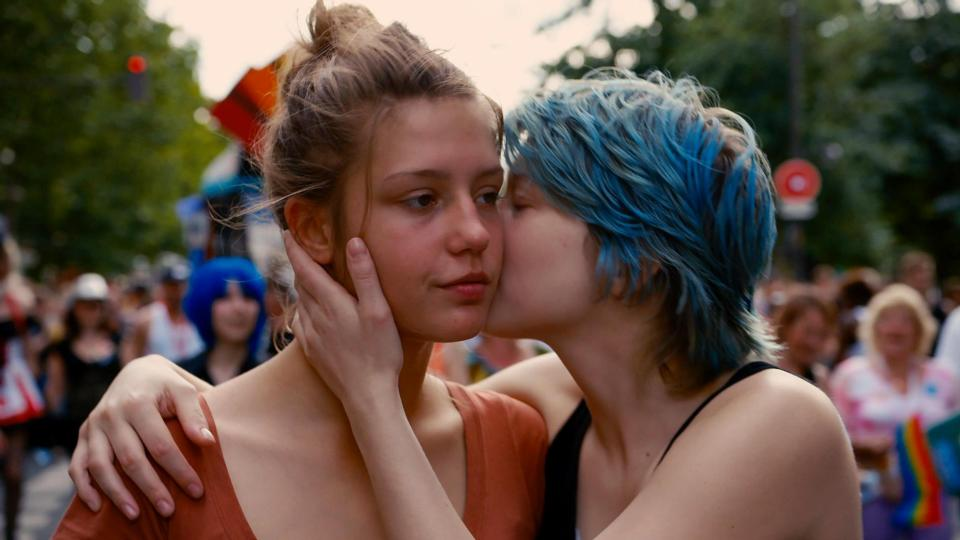 Blue proves the warmest colour as 10-minute lesbian sex scenes pull in the  plaudits