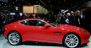 Jaguar's new F Type coupé