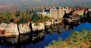 Mohonk Mountain House in upstate New York runs stay-and-shop packages with nearby Woodbury Common