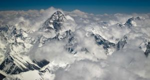 Freeze frame: K2, the world's second-highest mountain. Photograph: Kristen Elsby/Getty