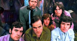 Flying Circus: Terry Jones, Graham Chapman, John Cleese, Eric Idle, Terry Gilliam and Michael Palin in the 1970s. Photograph: BBC