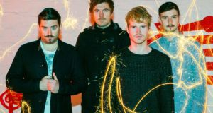 Kodaline: deceptively simple tunes that grab the crowd by the ear. Photograph: Naoise Culhane