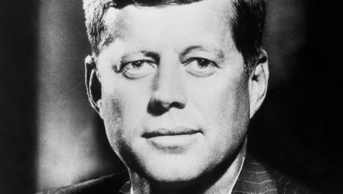 Portrait dated October 23rd, 1962 of then US president John F Kennedy, a year before his assassination. Photograph: PA Wire