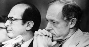 Convicted Watergate conspirator E. Howard Hunt was the subject of one conspiracy theory. Photograph: Keystone/Getty Images