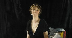 Portrait of Lady Idina Wallace  by Irish artist William Orpen sold for £962,500 (€1.1 million) at Sotheby's.  It was bought by a collector in the United States