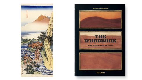 'Hokusai' by Gian Carlo Calza, €51, (Phaidon), Easons. 'The Woodbook'. By Romeyn B Hough, €19.99, (Taschen)