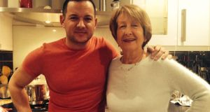 Can't cook, won't cook: Ian Lambkin with his mother, Mary Lambkin
