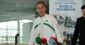World Championship  gold medallist Rob Heffernan listed off at least six reasons why he's anything but finished.