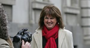 Joan Burton: has implemented a long overdue reform. Photograph: Eric Luke