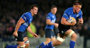 Leinster Dominic Ryan will start at openside against Treviso. Photograph: James Crombie/Inpho