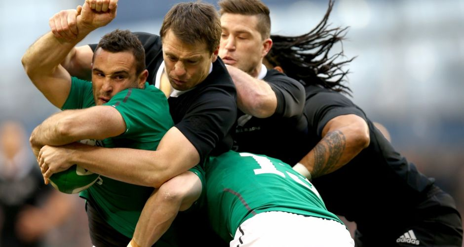 Ireland vs New Zealand