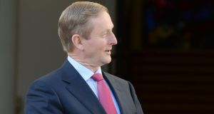 Taoiseach Enda Kenny: said at the unveiling of plans for a food education centre in Waterford that  our eating behaviours would store up problems for decades to come. Photograph: Alan Betson