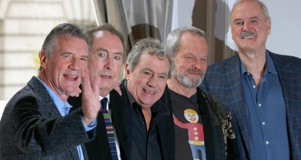 The Surviving Members Of The Original Cast Of Monty Python From Left Michael Palin