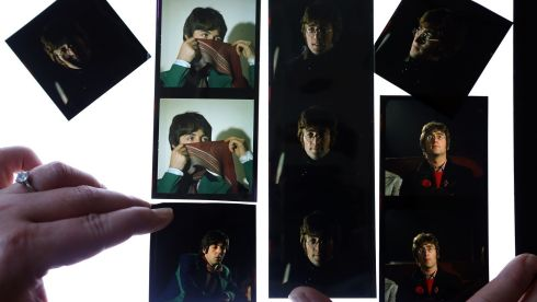 More unseen and unpublished images of The Beatles from late 1967/early 1968. Photograph:  Dave Thompson/PA Wire