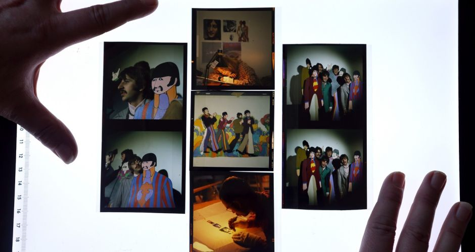 Auction of unseen images of The Beatles