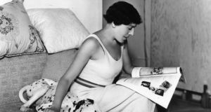 At home: Dodie Smith – who also wrote The Hundred and One Dalmatians – in 1934. Photograph: Sasha/Getty Images
