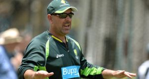 Australia's coach Darren Lehmann says he's side won't let up in Ashes rivalry with England. Photograph: Anthony Devlin/PA