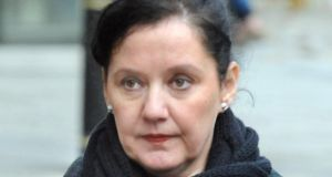 Aine Adams, now 40, sat in the public gallery close to her husband Tony Dahlstrom, her sister Sinéad and a police liaison officer as the judge issued the sentence.