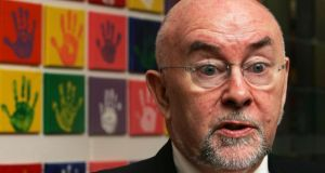 Ruairí Quinn said: 'I am confident that these new schools, alongside the existing schools in each area, will mean that parents and students have real choice when it comes to deciding which school most reflects their own ethos.' Photograph: Cyril Byrne/The Irish Times
