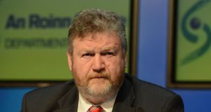 "Dr James Reilly: gave a ""personal commitment"" to the Tracheostomy Advocacy Group. Photograph: Cyril Byrne"
