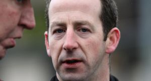 Trainer Jim Culloty: has booked Robbie McNamara to ride Lord Windermere. Photograph: Lorraine O'Sullivan/Inpho