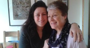 Kitchen companions: Ciara Woods and her mother, Maura