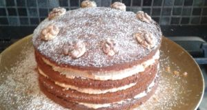 Ciara Woods's coffee and walnut cakes