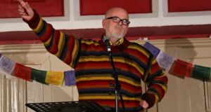 How deep is your chakra: singing teacher Archie Simpson  at Trailblazery