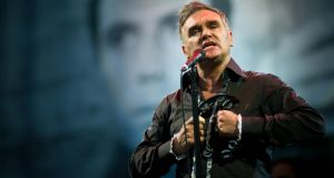 Morrissey: veggie to the core. Photograph: Ian Gavan/Getty Images