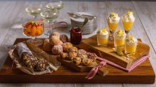 Mini meringue, doghnuts & chocolate: dinky Christmas desserts