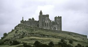 'Neil Jackman went about developing a series of downloadable guides on heritage sites: ranging from the famous – the Rock of Cashel (above) – to the relatively obscure, the Rock of Dunamaise.  Rock of Cashel'. Photograph: Getty Images