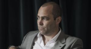 Irish novelist Donal Ryan has won the 2013 Guardian First Book Award with 'The Spinning Heart'. Photograph: Matthew Thompson