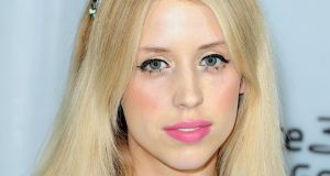 In tweets to her 160,000 followers, Peaches Geldof had urged newspapers to publish the names of the two women before doing so herself. She swiftly deleted the names after being bombarded with warnings from other Twitter users. Photograph: Ian West/PA Wire