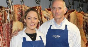 Butchers Kate and Pat McLoughlin, keeping it in the family