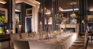 Private dining at 25 Fitzwilliam Place